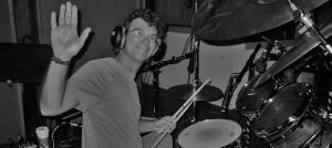 drumming a session for gary earl productions