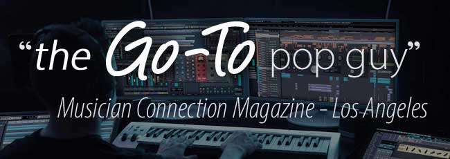 the go to pop guy says music connection magazine