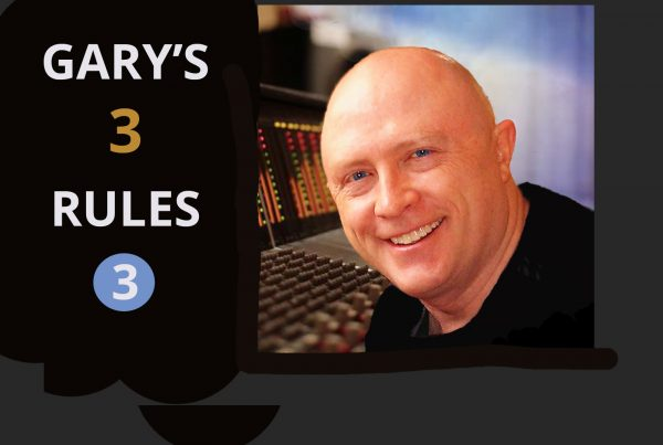 gary earl's 3 rules to guide your musical success