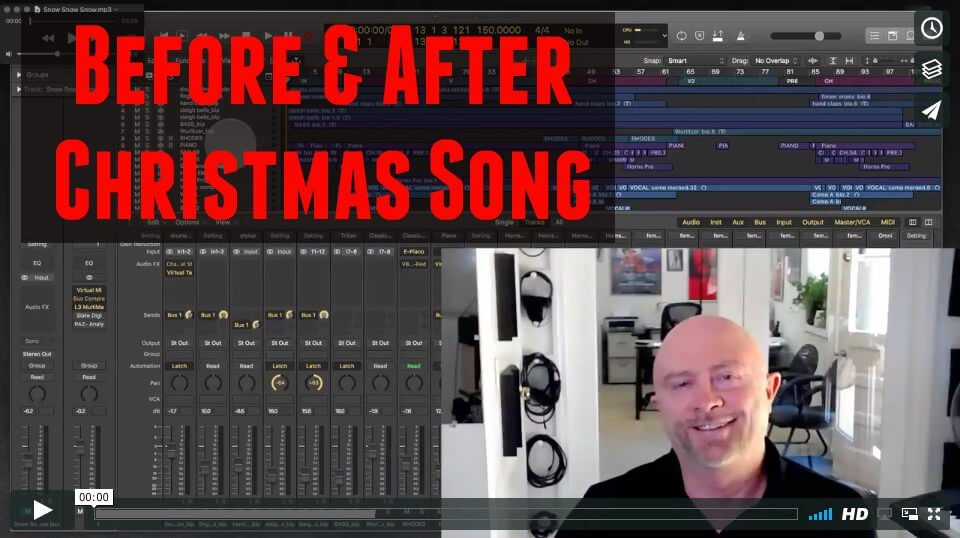 Before & After: Christmas Song